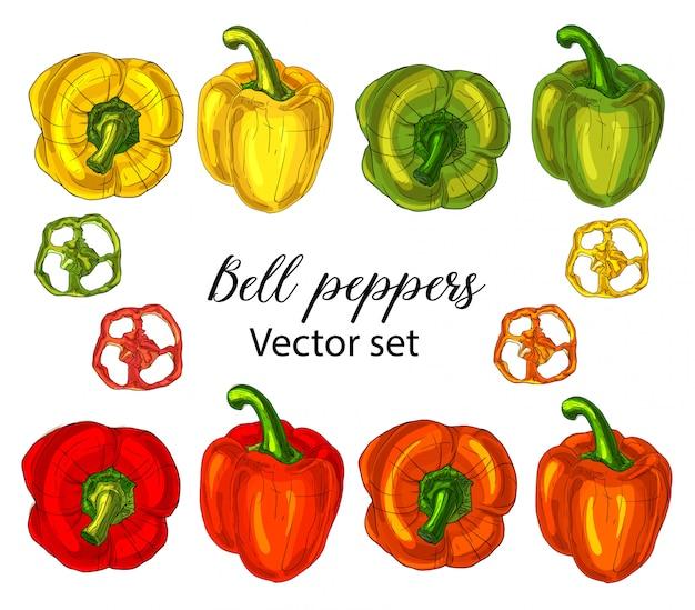 Set di peperoni