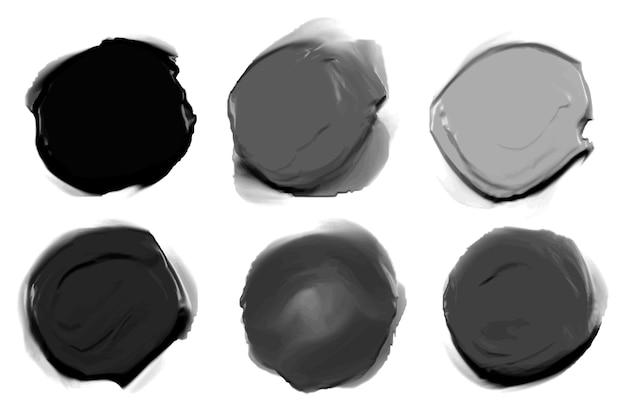 Set di pittura astratta