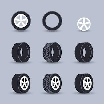 Set di pneumatici