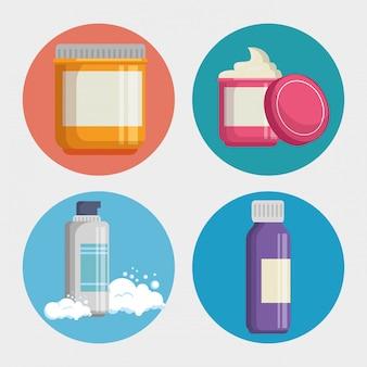 Set di prodotti per la cura del viso