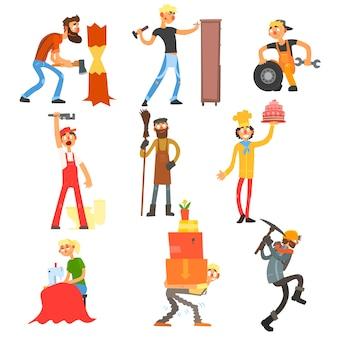 Set di professione e occupazione