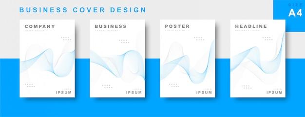 Set di progettazione copertina aziendale