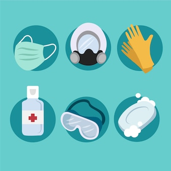 Set di protezione per apparecchiature antivirus