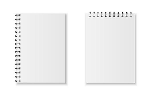 Set di quaderni realistico