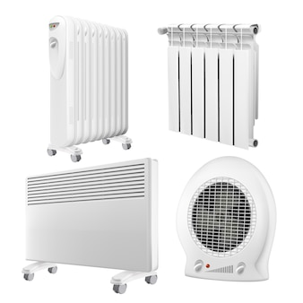 Set di raccolta apparecchi radiatore riscaldatore