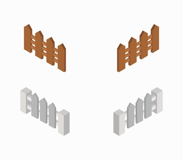 Set di recinzioni isometriche