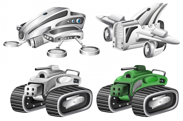 Set di robot auto