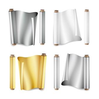 Set di rotoli di alluminio