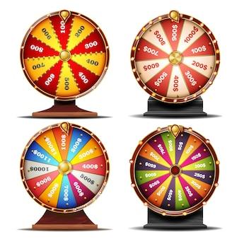 Set di ruote della fortuna