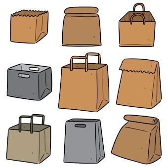 Set di sacchetti di carta