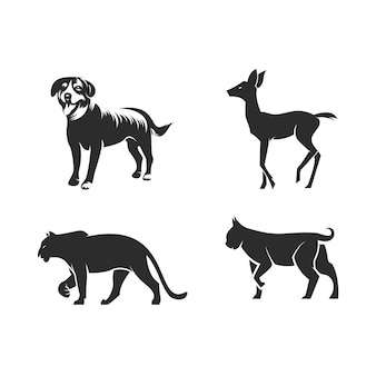 Set di sagoma animale