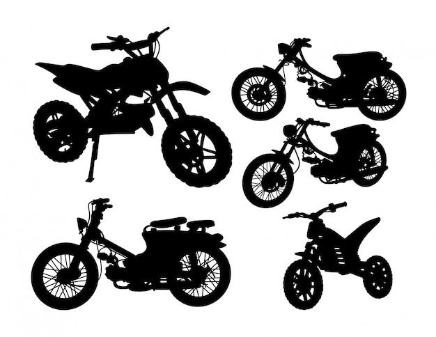 Set di sagoma di trasporto moto
