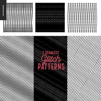Set di schemi di glitch