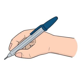 Set di scrittura a mano con penna