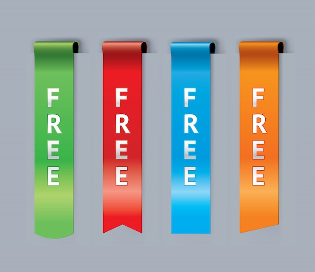 Set di segnalibri gratuiti
