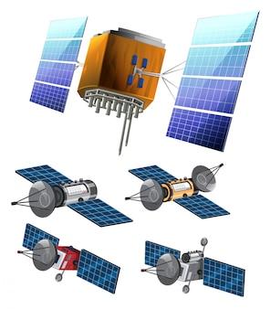 Set di set di satellite