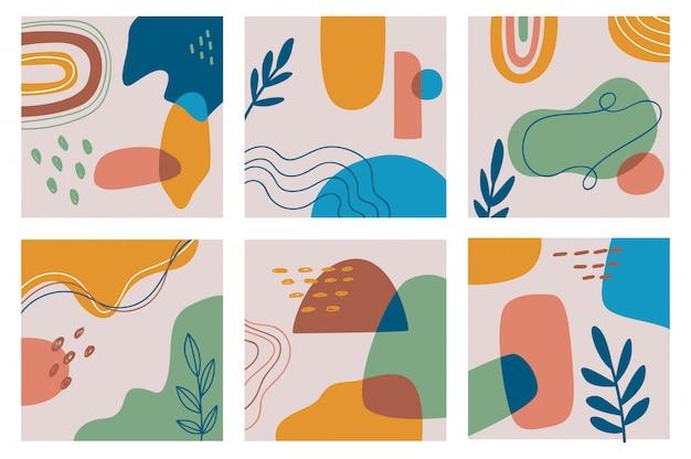 Set di sfondo contemporaneo