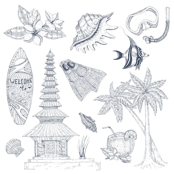 Set di simboli balinesi