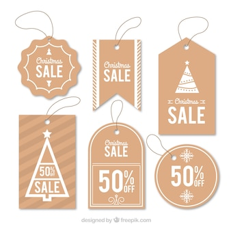 Set di simpatici adesivi natalizi in vendita