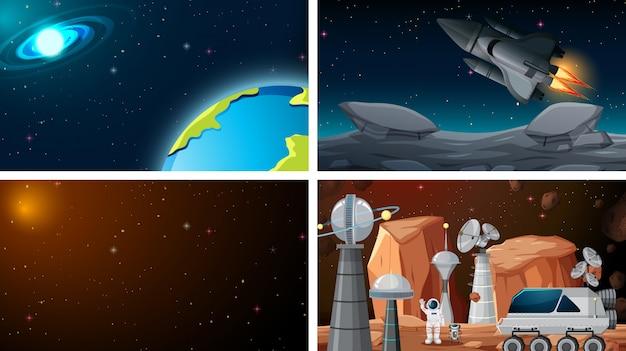 Set di spazio