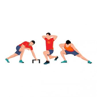 Set di sport maschili