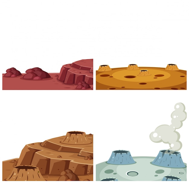 Set di superficie marte