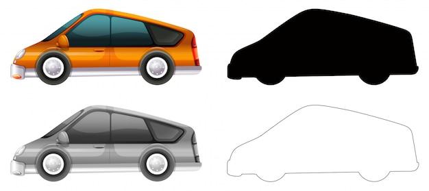Set di trasporto auto