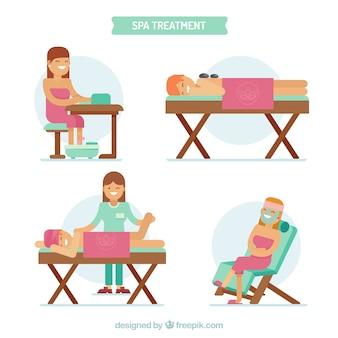Set di trattamento termale