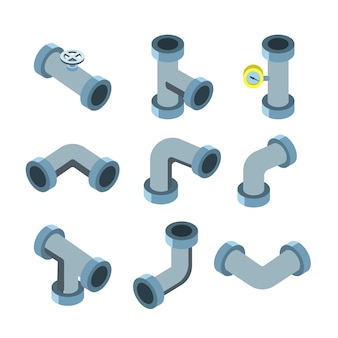 Set di tubi e condutture per tubi