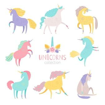 Set di unicorno da favola.