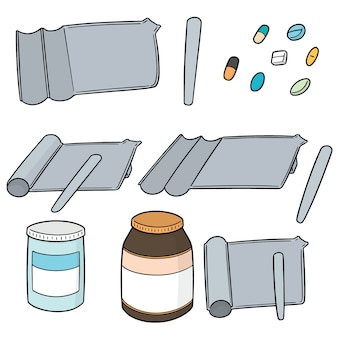 Set di vassoio per il conteggio delle pillole