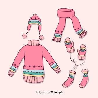 Set di vestiti invernali