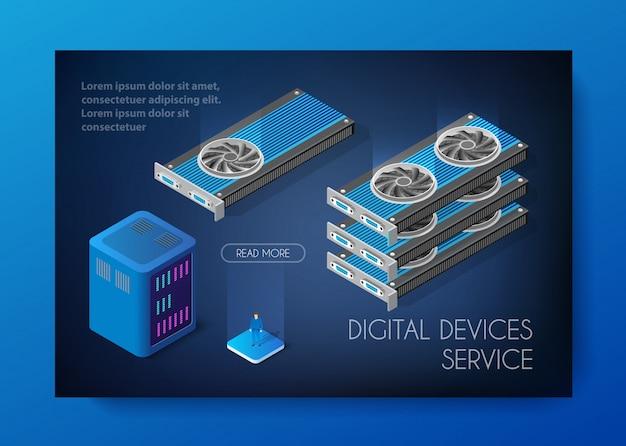 Set di videocard di bitcoin da miniera