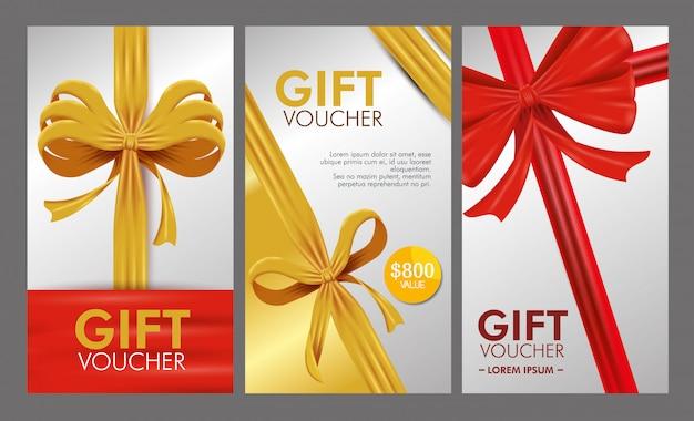 Set di voucher con vendita speciale