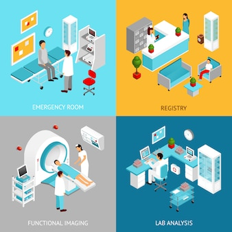 Set dipartimenti ospedalieri