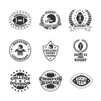 Set distintivo di baseball