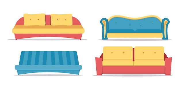 Set divano isolato