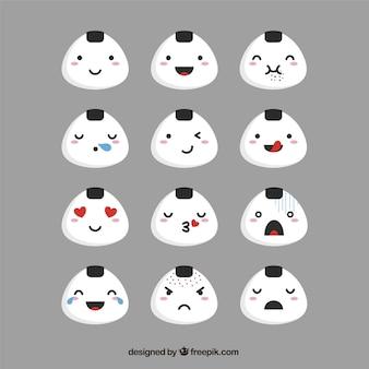 Set emoticon fantastic