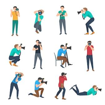Set fotografo maschio