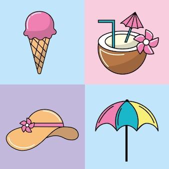 Set gelato e rinfresco