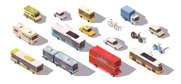 Set isometrico di trasporto