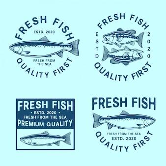 Set logo pesca