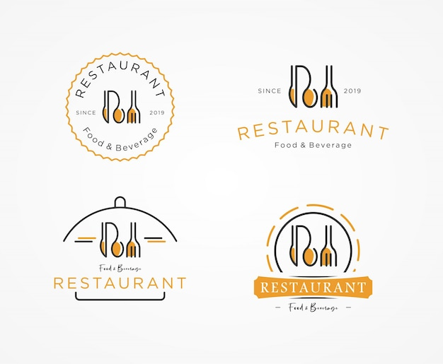 Set logo ristorante