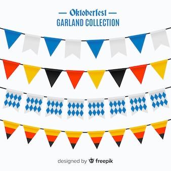 Set originale di ghirlande oktobefest