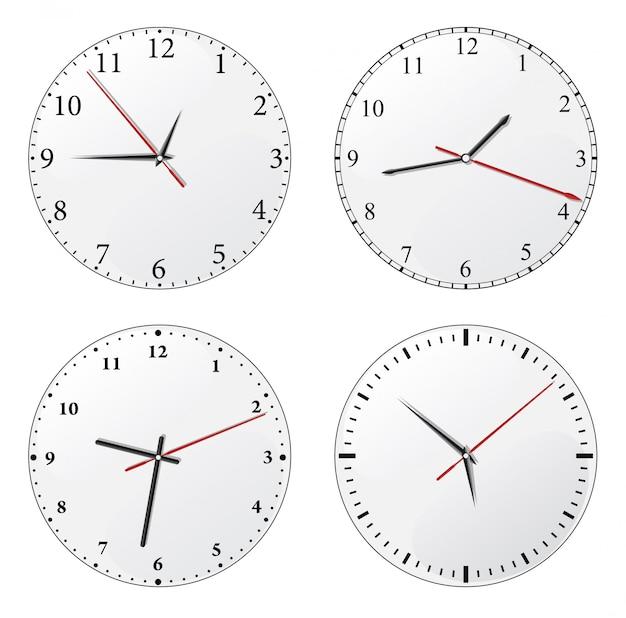 Set orologio da parete