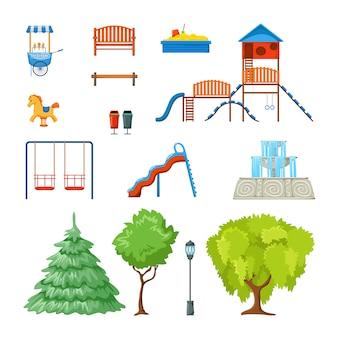 Set parco cittadino