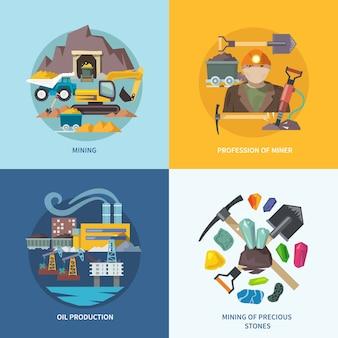 Set piatto di data mining