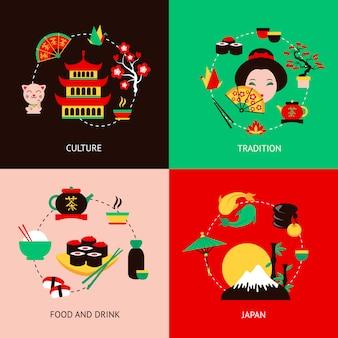 Set piatto giapponese