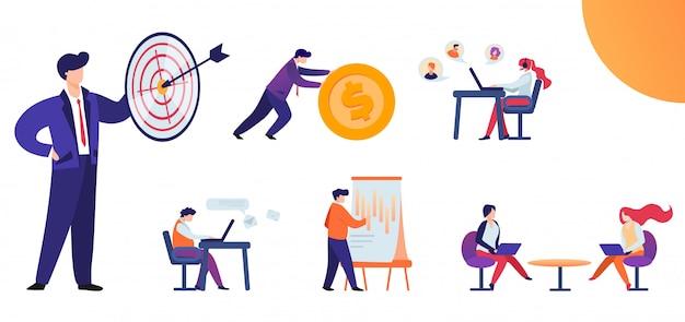 Set piatto modi e metodi per raggiungere l'obiettivo.