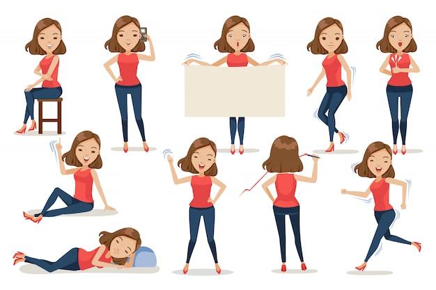 Set postura donna.